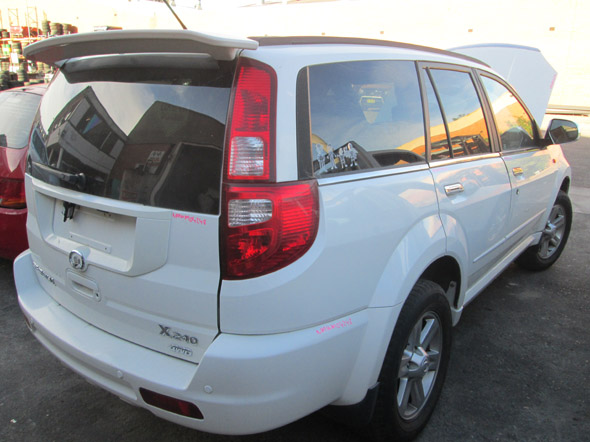 Great Wall X240 Wagon (early) 2.4i -M- 4WD White. Great Wall second hand car parts