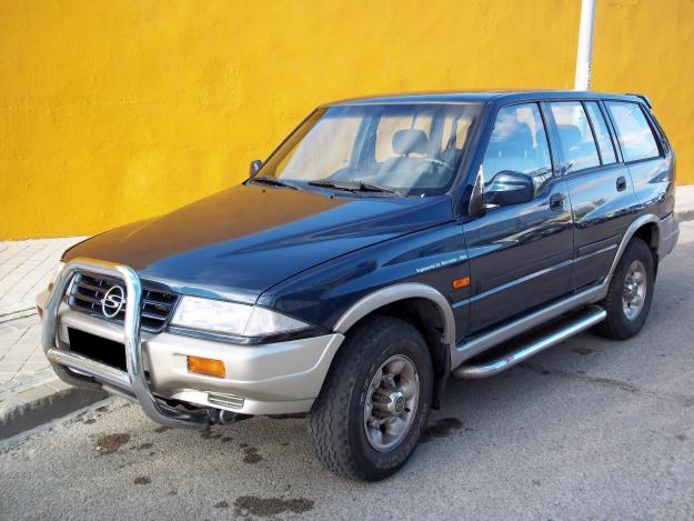 Ssangyong Musso Wagon Wrecker – Parts For Sale – 1996 – 1998