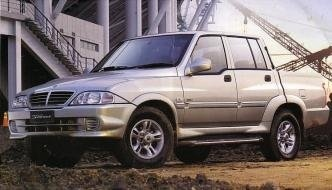 Ssangyong Musso Sports Wrecker – Parts For Sale – 2004 – 2006
