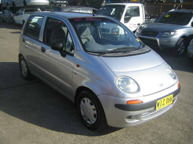 Wrecking Daewoo Matiz I 0.8i -M- Silver for auto parts