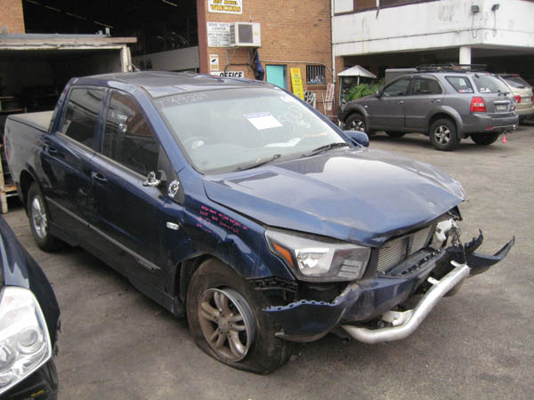 wrecking ssangyong actyon sports ute late 2 0dt sa 4wd blue for auto parts new model wreckers. Black Bedroom Furniture Sets. Home Design Ideas