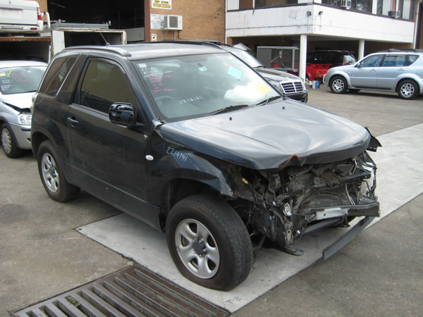 Suzuki Grand Vitara 2dr Wagon Jt 2 4i -a- Black  Vitara 2dr Second Hand Car Parts