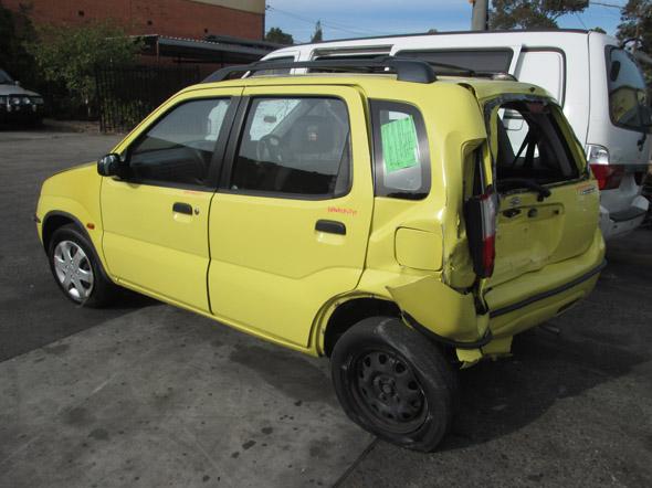 Suzuki Ignis 5DR HB 1.3i -A- Yellow. Wrecking in Sydney
