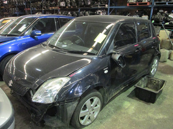 Suzuki Swift EZ 1 5i -M- Black  Swift spare parts - New Model Wreckers