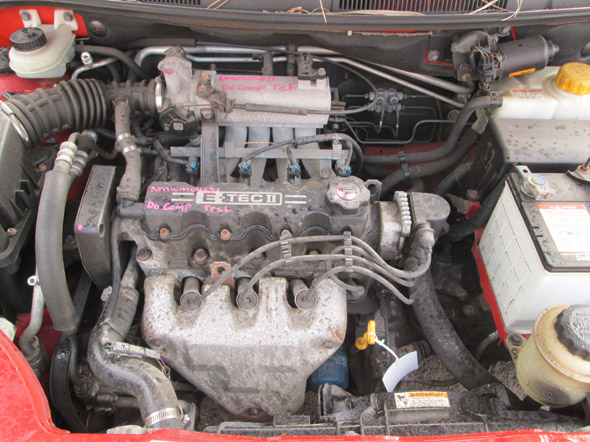 Daewoo Kalos 5DR HB 1.5i -M- Maroon. Daewoo Kalos parts