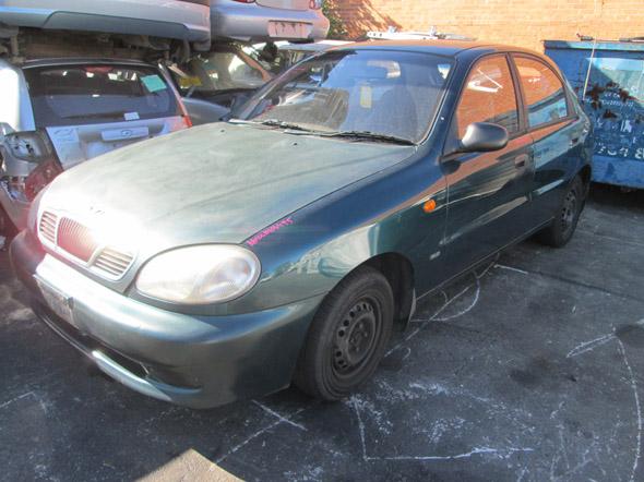 Daewoo Lanos 5DR HB 1.5i -M- Green. Daewoo Lanos used parts