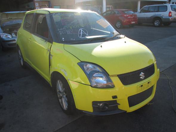 Suzuki Swift Sport EZ 1 6i -M- Yellow  Suzuki Swift auto parts - New