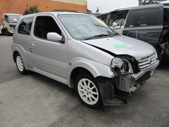Suzuki Ignis Sport 3DR HB 1 5i -M- Silver  Suzuki spare