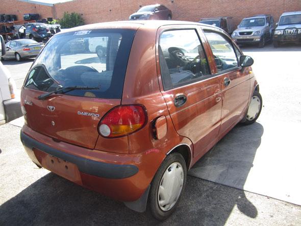 Daewoo Matiz I 0.8i -M- Orange. Matiz wreckers