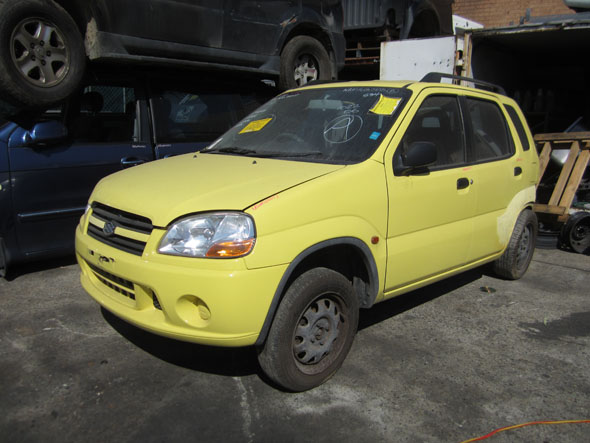 Suzuki Ignis 5DR HB 1.3i -A- Yellow. Ignis auto parts