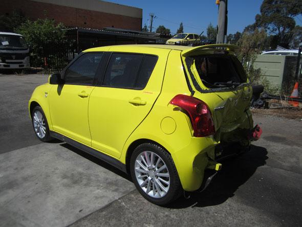 Suzuki Swift Sports EZ 1 6i -M- Yellow  Swift auto parts